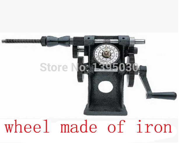 Free shipping by DHL New Manual Hand Coil Winding Machine Winder NZ-5 Dual Purpose Manual Coil Winder(China (Mainland))