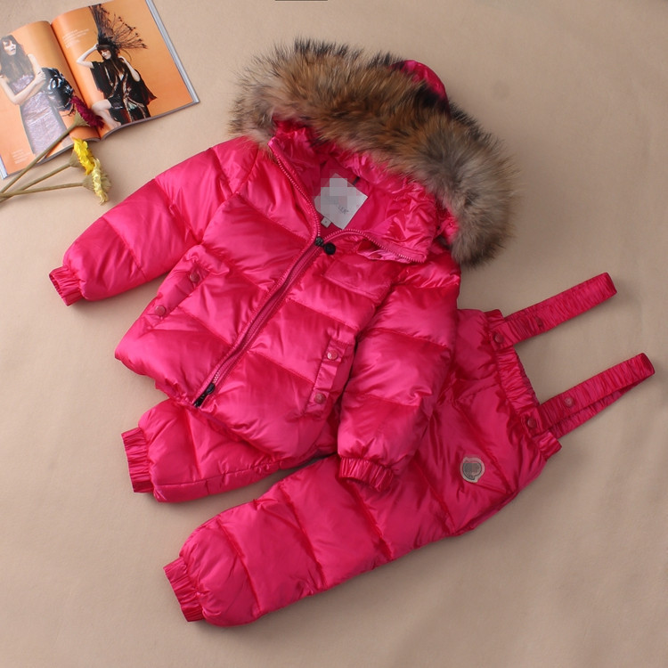 High quality brand children s winter font b clothing b font set font b boys b