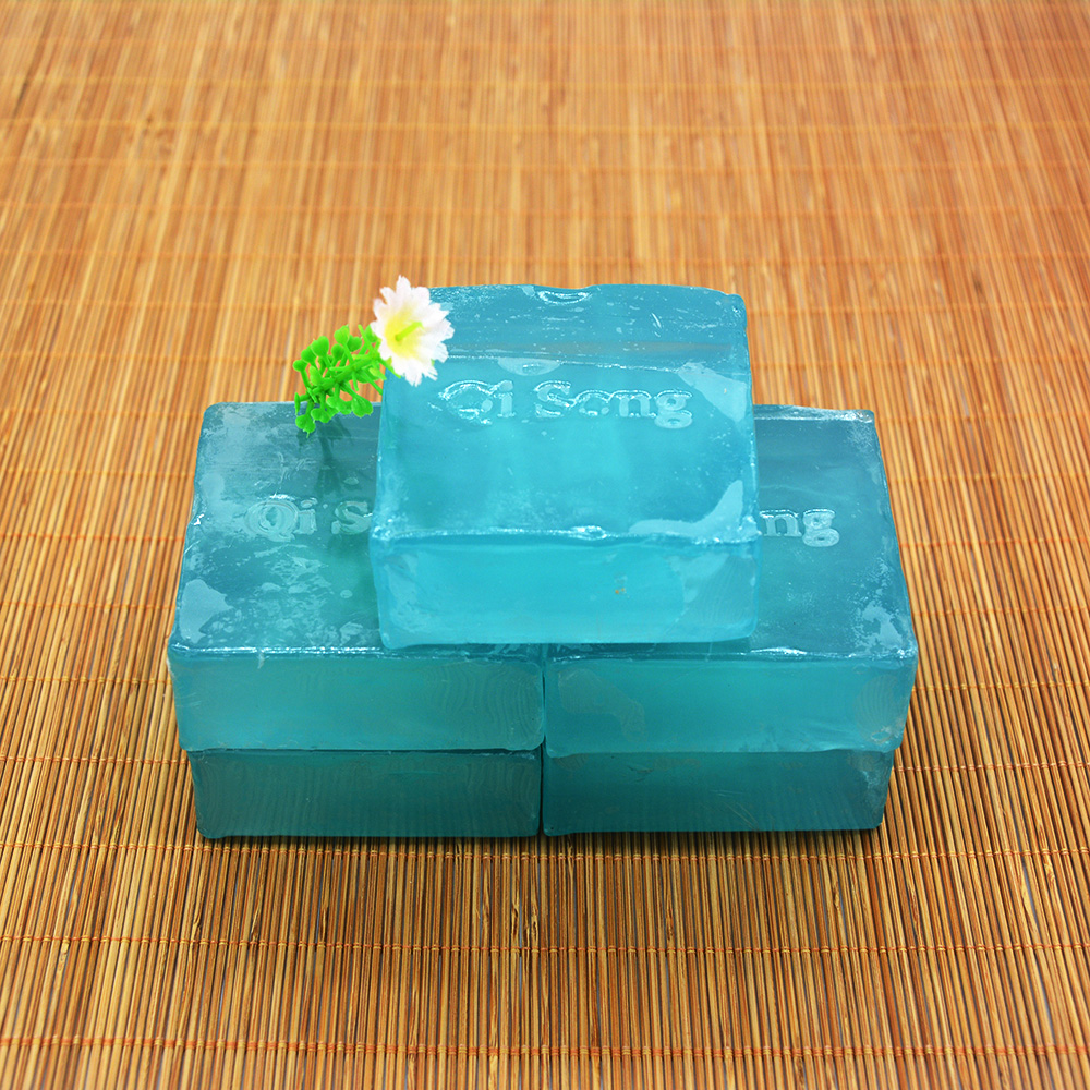 Natural active enzyme Crystal Bath Shower Soap Body Areola Skin Whitening Soap Handmade Soap removal of melanin(China (Mainland))