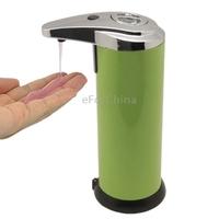 No-Drip Design Automatic Soap Dispenser (Green)