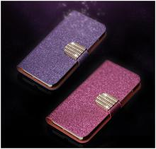 Luxury Glitter Diamond PU Wallet Leather Case For Nokia Lumia 625 Cover For Nokia Lumia 625 Flip Buckle Stand Card Holder