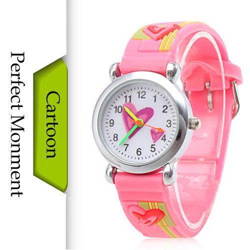 New 2015 Children's Watches Cartoon Watch Wrist Watch For Children Fashion Waterproof Silicone Child Clock Kid Wristwatch(China (Mainland))