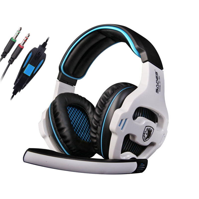 Professional Stereo Bass Game Voice Headphones With MIC For PC Gamer Computer Gaming Hifi Earphones Mp3 Player casque audio<br><br>Aliexpress