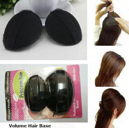 Заколки, Шпильки для волос No 2 /, Bumpit updo pin BB Hair Bump Up 1pc black women hairagami hair bun updo fold wrap