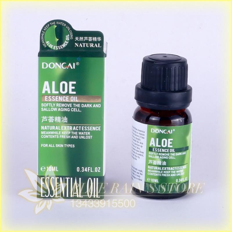 Aloe essence whitening essence Oil 10 ml whitening skin Moisturizing and nourishing Essential Oil(China (Mainland))