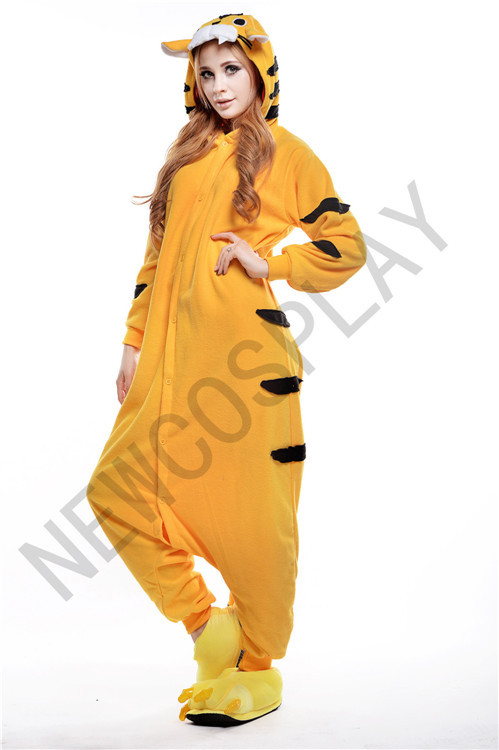 Anime Characters Jumpsuit : Free shipping hot cartoon animal leotard tiger