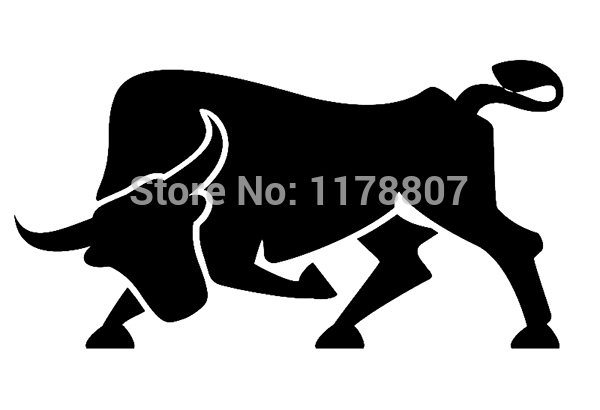 9 Colors Spanish Bull Animal Die Cut Vinyl Decal For Car Rear Windshield Truck Bumper Auto Door Kayak Art Sticker(China (Mainland))