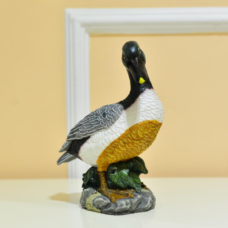 Opened gift garden animal mallard duck decorations for Duck decorations home
