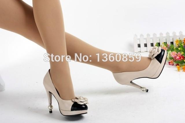 hot sale wholesale design Women's dress Pumps Brand flower wedding bridal heels shoes elegant party pumps(China (Mainland))