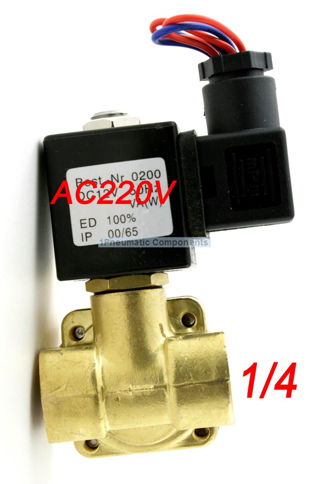 высокое качество 1/4' 16бар давления электромагнитный клапан нормально открытый диафрагма клапана 0955105 dc12v, dc24v, ac110v или ac220v