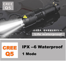 Surprise! high-quality cree 2000 Lumens lanterna waterproof LED Flashlight tactical torch penlight free shipping(China (Mainland))