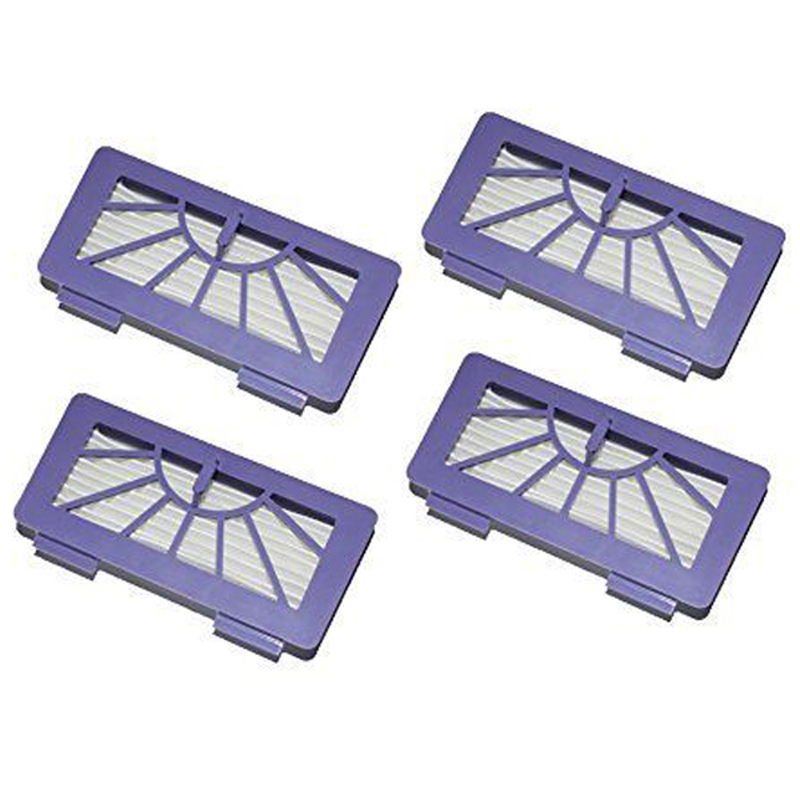 New 4Pcs / Lot Neato Filter Replacement Pack For XV-11 XV-12 XV-14 XV-15 XV-21 For Allergy Automatic Vacuum Cleaner XV Series(China (Mainland))