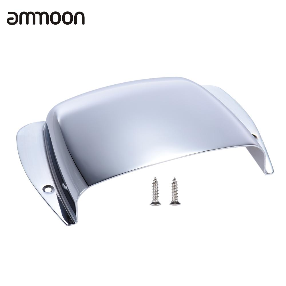Chrome Plated Short Steel Guitar Bridge Cover Protector for Jazz Bass Electric Bass Guitar Part Replacement(China (Mainland))