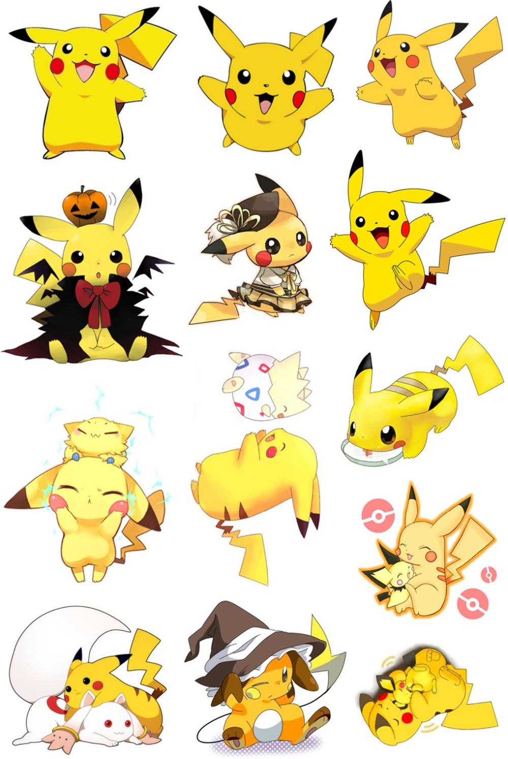 pokemon pikachu stickers images pokemon images