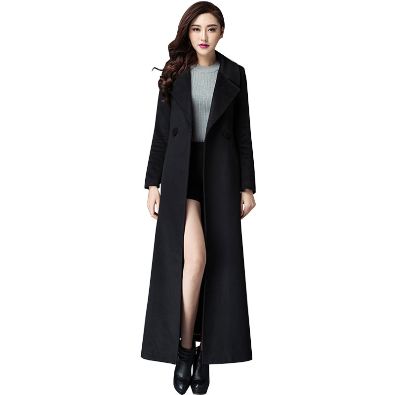 Compare Prices on Black Wool Maxi Coats- Online Shopping/Buy Low