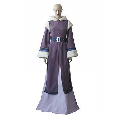 free shipping Avatar The Last Airbender Princess Yue Cosplay Costume(China (Mainland))