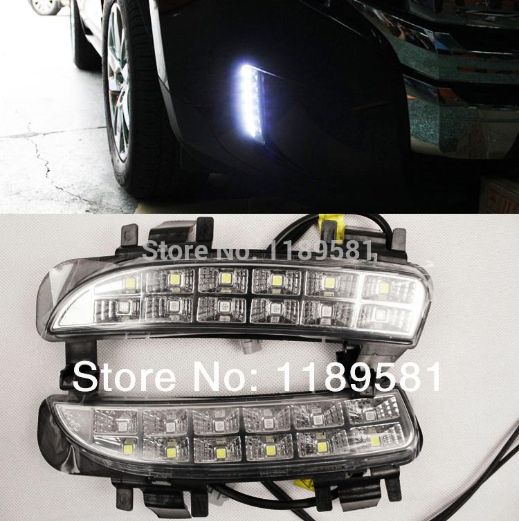 For Ford Edge 2011 2012 2013 2014+ Replace LED Daytime running light DRL(China (Mainland))