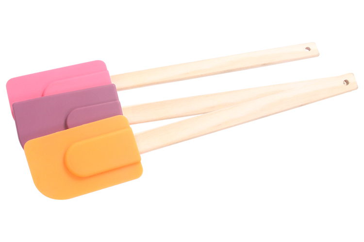 Wood Handled Spatula Cake Spatula Wooden Handle