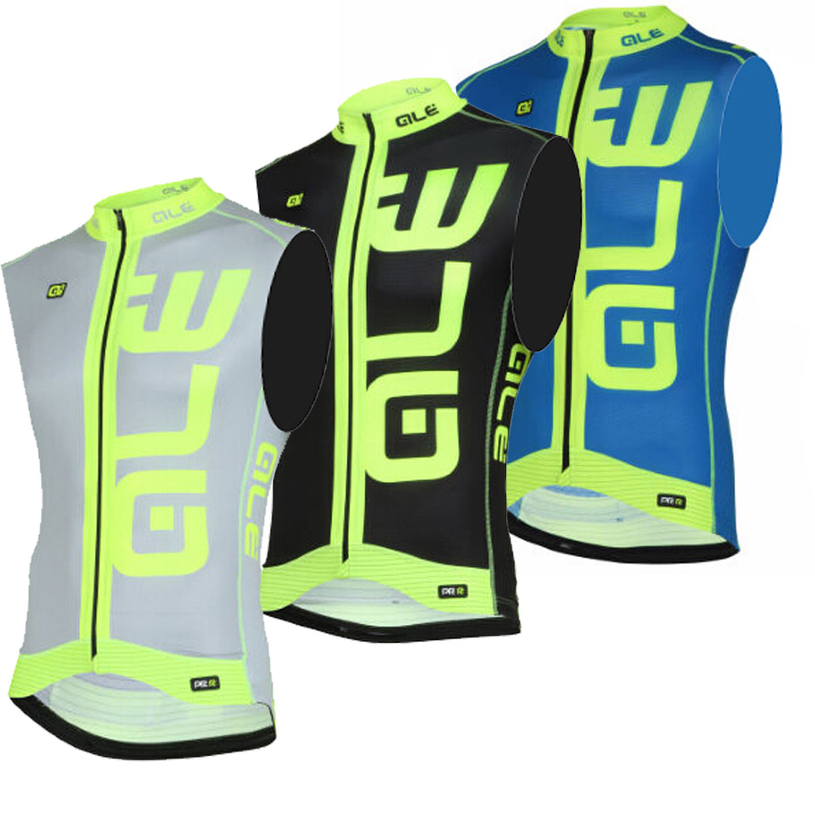 Pro Cycling Bike Vest / 2016 breathable sleeveless Cycling Jersey / 3 colors! Fluorescent yellow sleeveless bike clothes(China (Mainland))