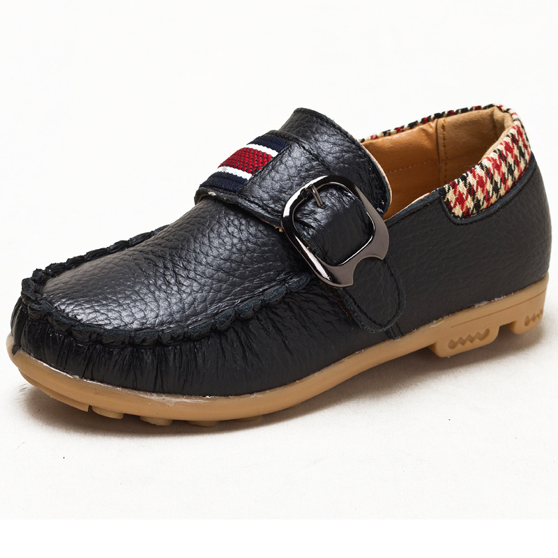 2015 new models boys casual genuine leather shoes