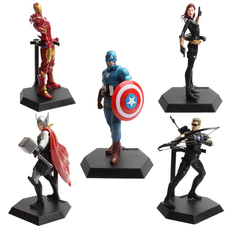 The Avengers 5pcs 18cm Captain America Iron Man Hawkeye Marvel Figures Decoration Collection Kids Gifts Toys 1225<br><br>Aliexpress