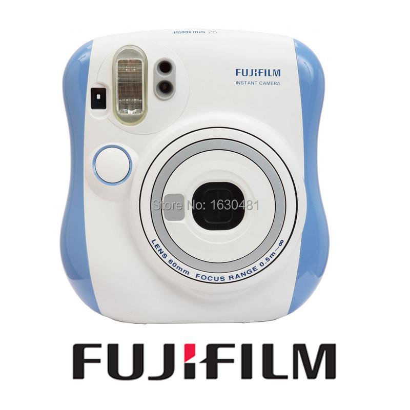 Fuji Instax Mini 25 Camera Fujifilm Instax Mini 25 Original Instant Film Photo Camera Blue Color(Hong Kong)