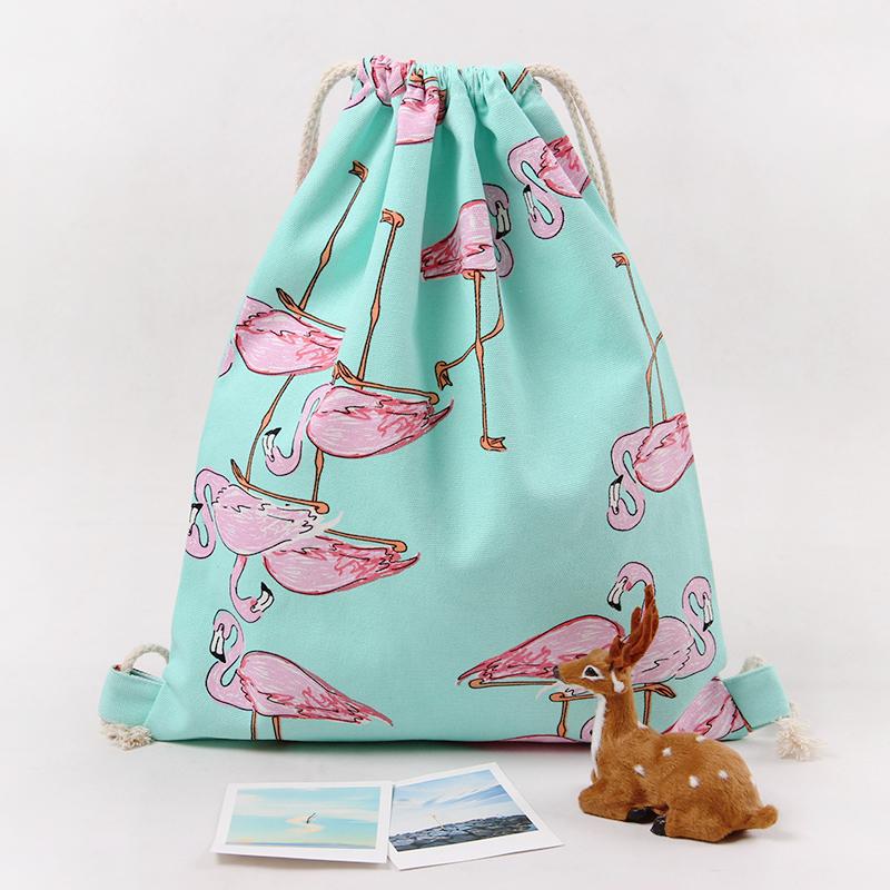 2016 new fashion backpack 3D printing travel softback man women harajuku drawstring bag mens backpacks tote bag(China (Mainland))