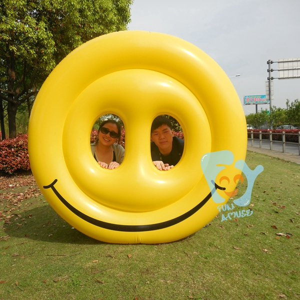 Buy inflatable swimming float smiley face for Best rated inflatable swimming pool