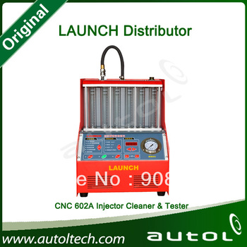 New Hot sell car injector cleaner tool Launch CNC602a injector with reasonable price