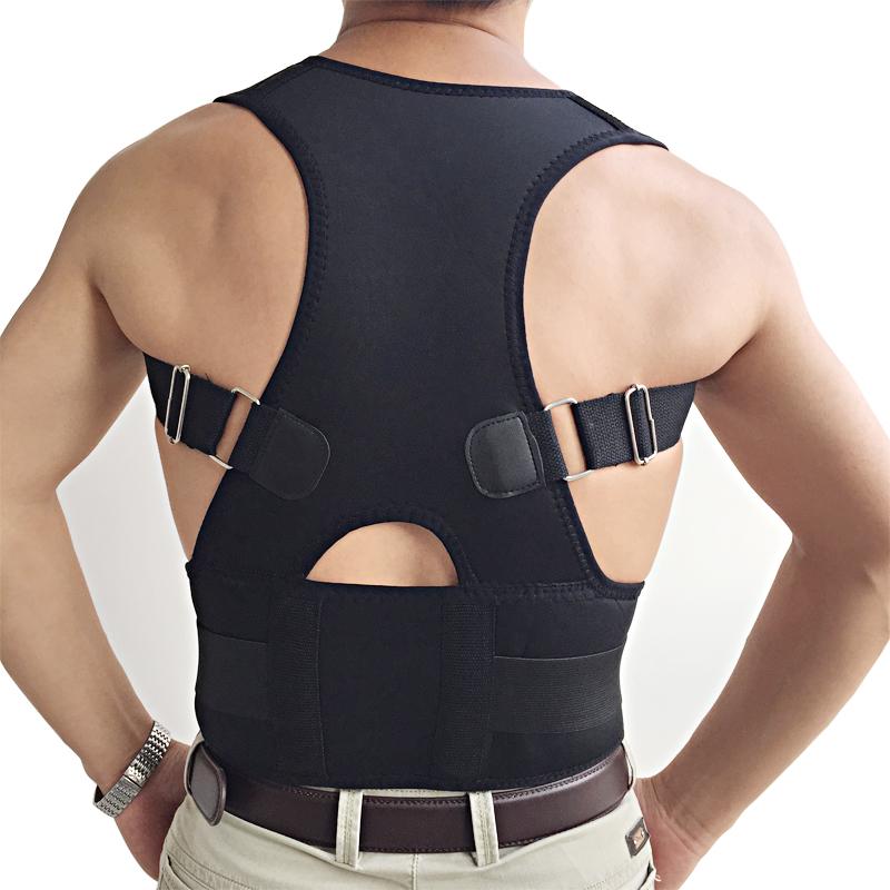 High Quality Posture Corrector Spine for Unisex Adult Adjustable Men Women Back Shoulder Supporting for brace posture(China (Mainland))