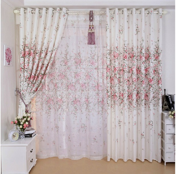Aliexpresscom Compre Falso cortina de seda, Para quarto e varanda, Cortina