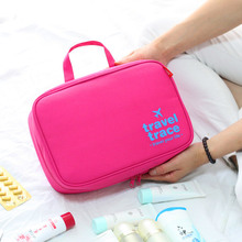 Travel Large Cute Oxford Fold Toiletry Bag Makeup Organizer Pouch Big Women Hanging Brand Cosmetic Bags Wash bag