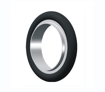 KF vacuum aluminum bracket nitrile rubber ring skeleton KF vacuum clamp ring stainless steel bracket + fluorine Aprons(China (Mainland))