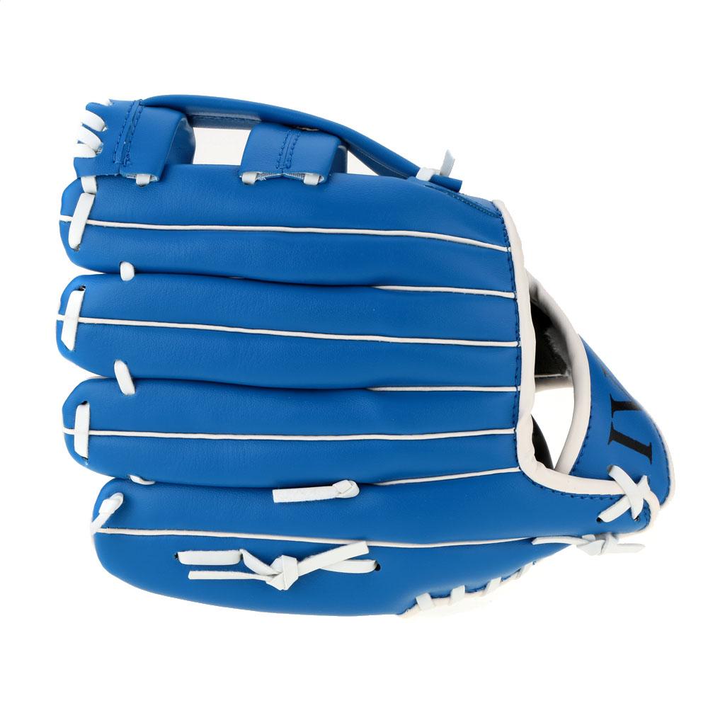 "Blue Baseball Glove Outdoor Sports Baseball Team Exercise Training 10.5"" Baseball Glove Left Hand Softball Gloves(China (Mainland))"