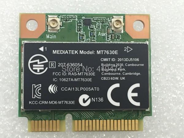 New Mediatek MT7630E MINI PCI-E 300Mbps Wlan WIFI + Bluetooth 4.0 Wireless Card for HP m4 m6 envy14 16  SPS:710418-001<br><br>Aliexpress
