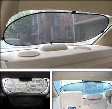 100*50cm Car rear window sunshade rear sun shade sun-shading insulated curtain visor sunshield cover mesh black