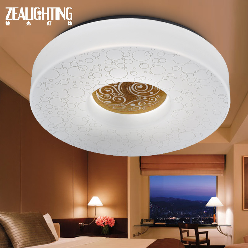 Здесь можно купить  LED ceiling light bedroom lamp casting light minimalist modern restaurant living room ceiling lamp light study lamps Round  Свет и освещение
