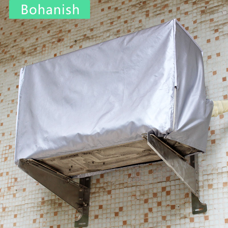 Waterproof Air Conditioner Cover Sunscreen For Home Outside External Unit With Elastic All-inclusive Wall Mounted Dustproof(China (Mainland))