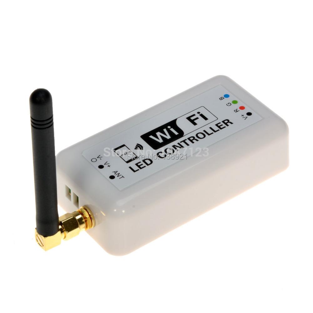 Free Shipping Wireless WiFi RGB LED Strip Light Controller<br><br>Aliexpress