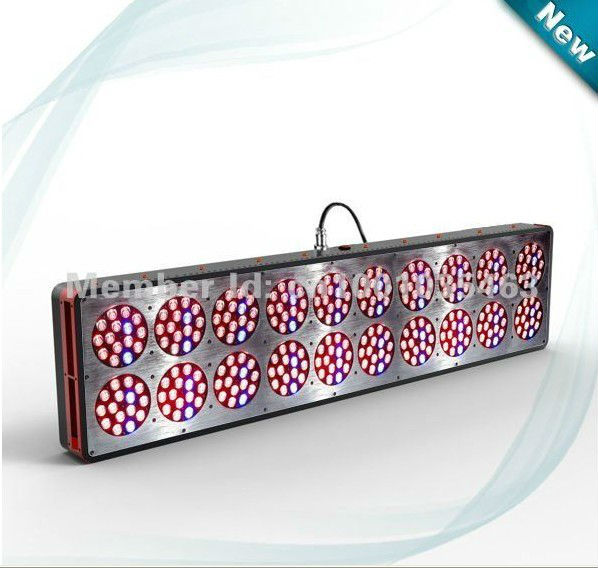 Freeshipping.6 band spectrum 300 x 3W led grow light 630W Apollo20 LED grow light for indoor greenhouse hydroponic system.(China (Mainland))