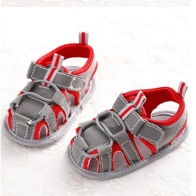 Новый стиль детская обувь мальчик обувь для новорожденных мягкой подошвой мальчиков ...