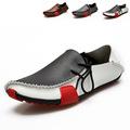Men shoes chaussure homme 2015 hot fashion PU men flat shoes zapatos hombre Breathable shoes flat