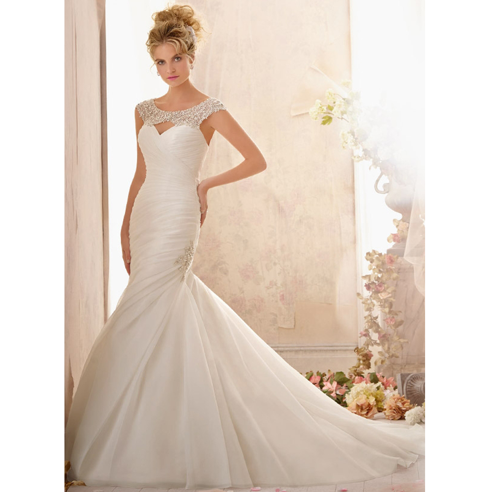 Buy Fancy Beaded Wedding Dresses