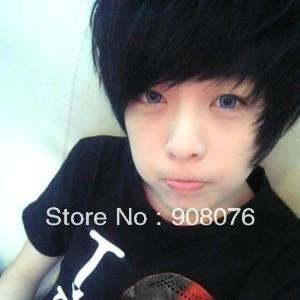 Best Selling Boys Cute Handsome Full Wig Male Short Hair