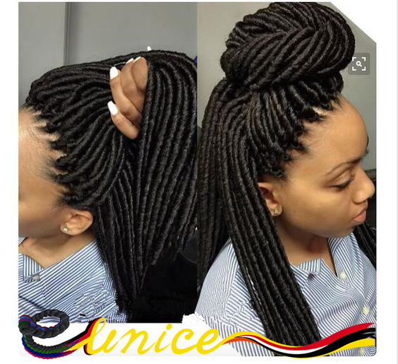 Crochet Suit Hair Dreadlock Hair Style Synthetic Braiding Extension ...