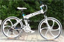 BM New 21/24/27 Speed Bicycle Bike 26 Folding Mountain Bike Bicicleta MTB Mountain Bicycle Aluminum Alloy Frame Disc Brake(China (Mainland))