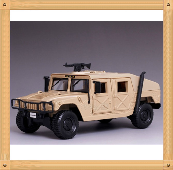 1:27 Humvee Model Military Off-road Vehicle Alloy Car Model(China (Mainland))