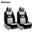 two front seats Univeraal car seat covers For Peugeot 307 206 308 407 207 406 408