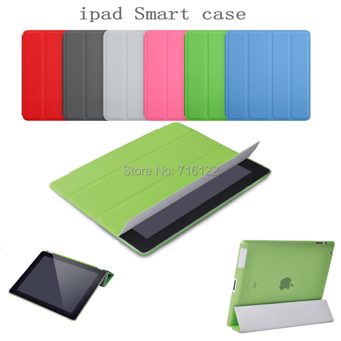 Smart Cover Apple iPad Case Stand Function 5 Colors Tablet Cases PU Leather 2 3 4 - Travellife store