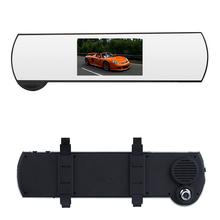 Автомобильный видеорегистратор кронштейна зеркало заднего вида видеокамера черный ящик монитор с двумя объективами Full HD 1080 P с G доставка-датчик обнаружения движения